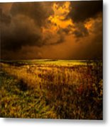 An Autumn Storm Metal Print by Phil Koch