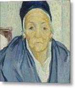An Old Woman Of Arles Arles, February 1888 Vincent Van Gogh 1853 - 1890 Metal Print