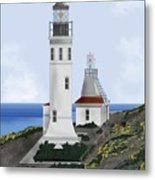 Anacapa Lighthouse California Metal Print