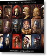 Ancient Warriors Metal Print
