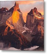 Andes Mountains Metal Print