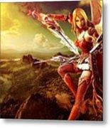 Angel Warrior Metal Print