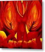 Angels Of Fire Metal Print