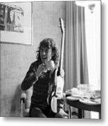 Angus Young Ac/dc Metal Print