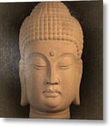 antique oil effect Buddha Korean ,, Metal Print