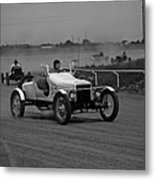 Antique Races Black And White Metal Print