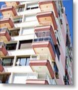 Apartment Building Metal Print
