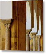 Arches Of The Patio De Los Naranjos In The Cathedral Of Cordoba Metal Print
