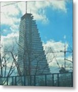 Architectural Skies Metal Print