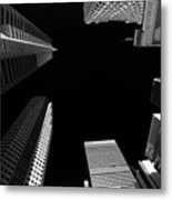 Architecture Black White  Metal Print