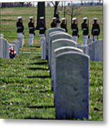 Arlington Cemetery Washington Dc Usa Metal Print