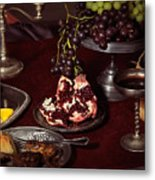 Artistic Food Still Life Metal Print