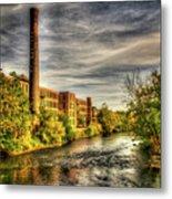 Ashton Mill, Cumberland, Ri Metal Print