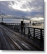 Astoria-megler Bridge 4 Metal Print