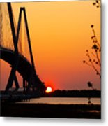 At The End Of The Bridge Metal Print