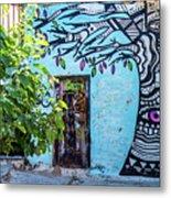 Athens Graffiti Metal Print