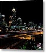 Atlanta Expressway Metal Print