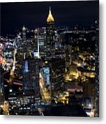 Atlanta Georgia - Evening Commute Metal Print