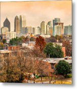 Atlanta - Georgia - Usa Metal Print