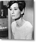 Audrey Hepburn (1929-1993) Metal Print by Granger