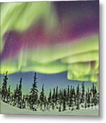 Aurora Borealis Over Churchill Metal Print