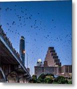 Austin Bat Watch Metal Print