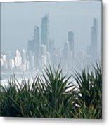 Australia - Surf Mist Shrouds Our View Metal Print
