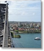 Australia - Kirribilli And Sydney Harbour Bridge Metal Print