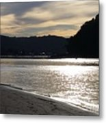 Australia - Sun Glistens On Umina Beach Metal Print