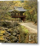 Autumn At Seonamsa Metal Print