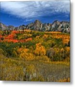 Autumn Crown Metal Print