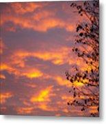 Autumn Sky Metal Print by Konstantin Dikovsky