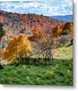 Autumn This Side Of Heaven Metal Print
