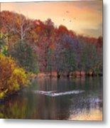Autumn's Allure Metal Print