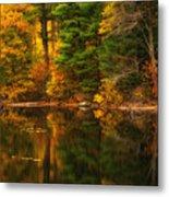 Autumns Calm Metal Print
