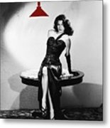 Ava Gardner Film Noir Classic The Killers 1946-2015 Metal Print