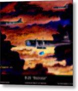 B-29 Bockscar Metal Print