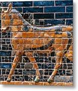 Babylon: Ishtar Gate 600 B.c Metal Print
