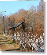 Back Roads Of Ms Metal Print
