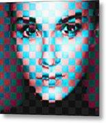 Good Pixels Metal Print