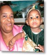 Bahama Mama In Atlantis Metal Print