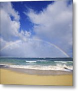 Baldwin Beach Metal Print