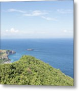 Bali North Coast Metal Print