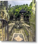 Bali Temple Metal Print