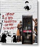 Banksy - The Tribute - Rats Metal Print
