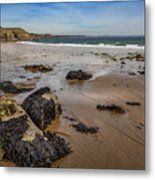 Barafundle Bay Metal Print