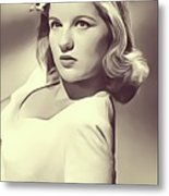 Barbara Bel Geddes, Vintage Actress Metal Print