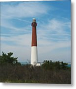 Barnegat Lighthouse - New Jersey Metal Print