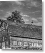 Ct. Barn Metal Print