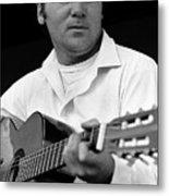 Barry Sadler With Guitar 3 Tucson Arizona 1971 Metal Print
